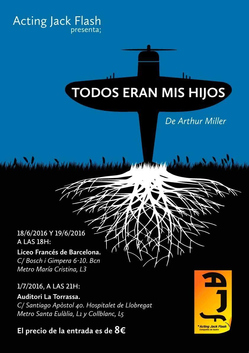 Poster - Todos eran mis hijos - Alberto Amayuelas