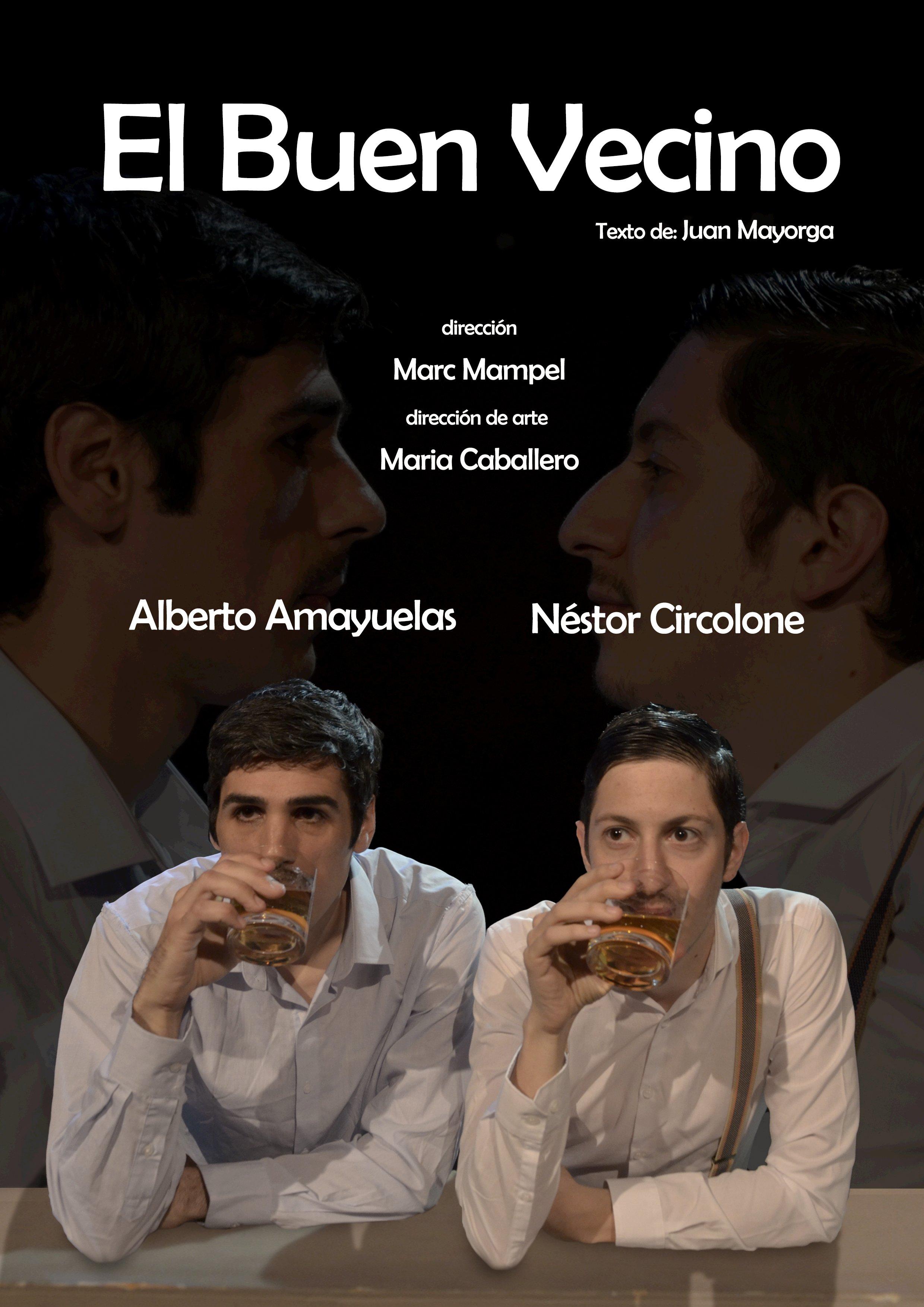 Poster - El buen vecino - Alberto Amayuelas