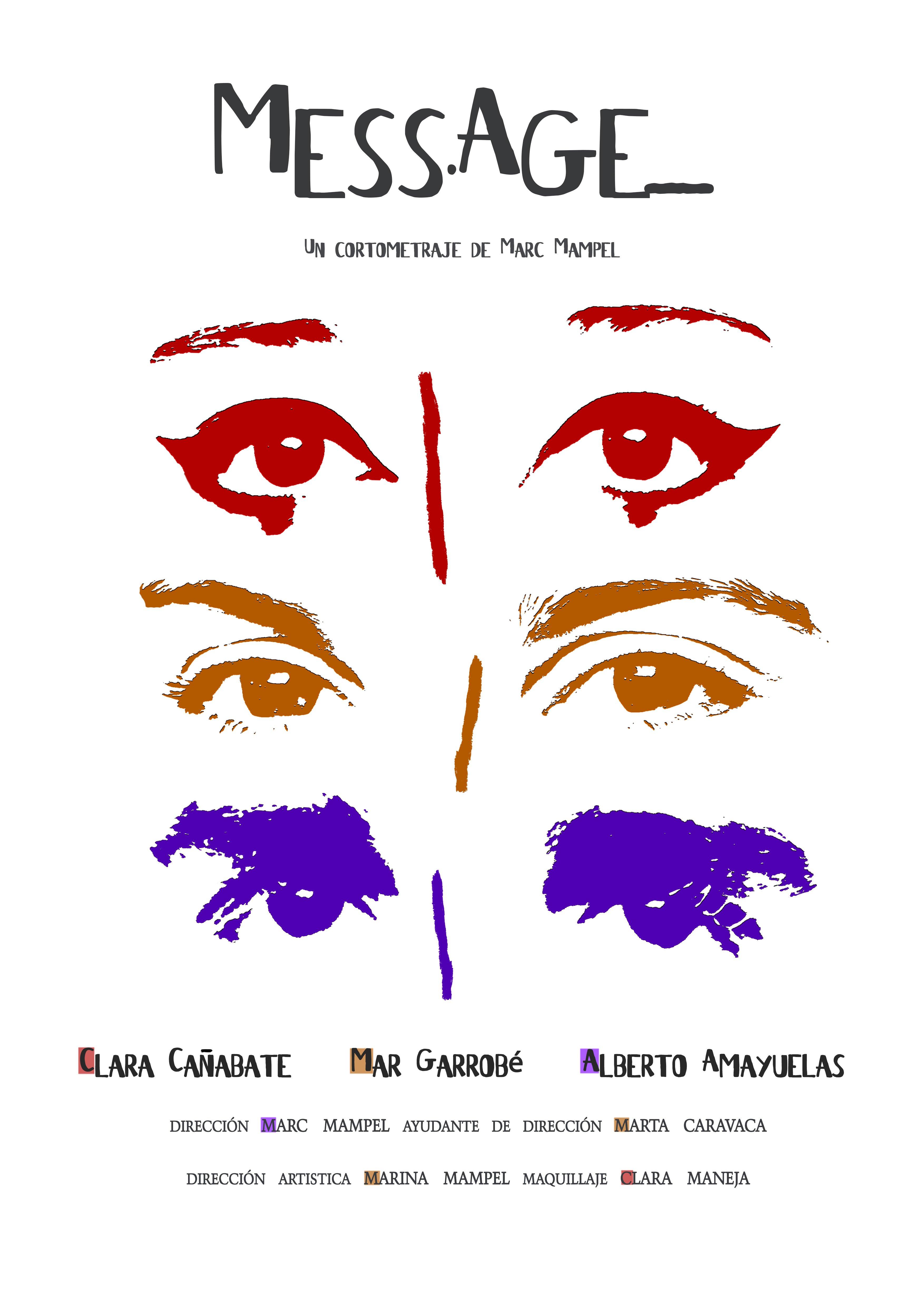 Poster MESSAGE - Alberto Amayuelas