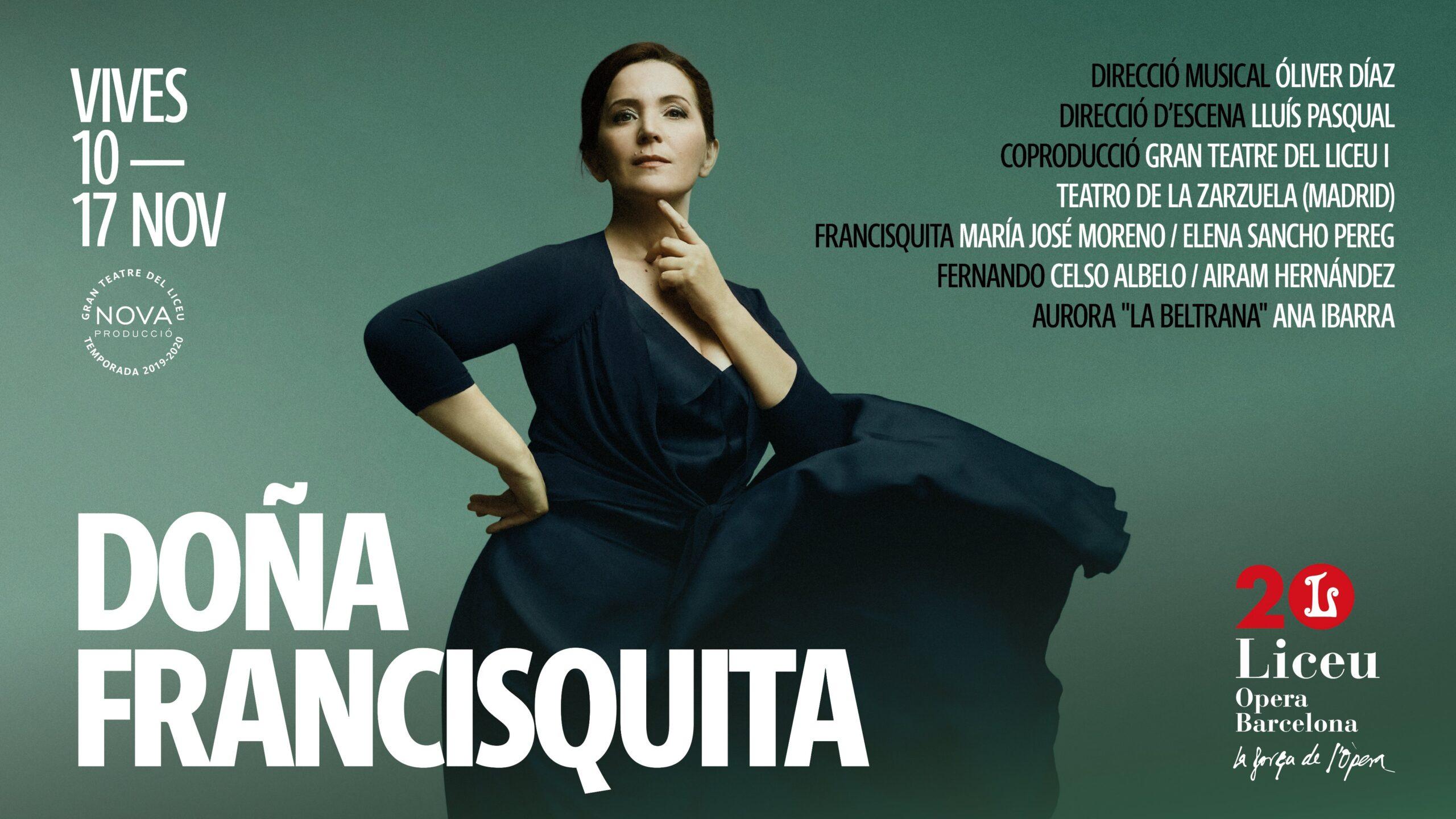 Doña Francisquita - Poster