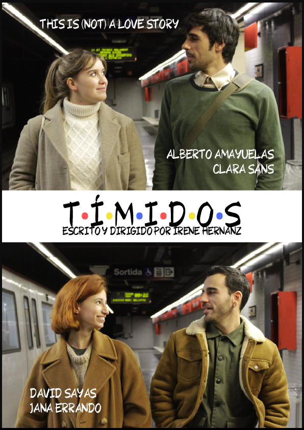 Póster Tímidos - Alberto Amayuelas
