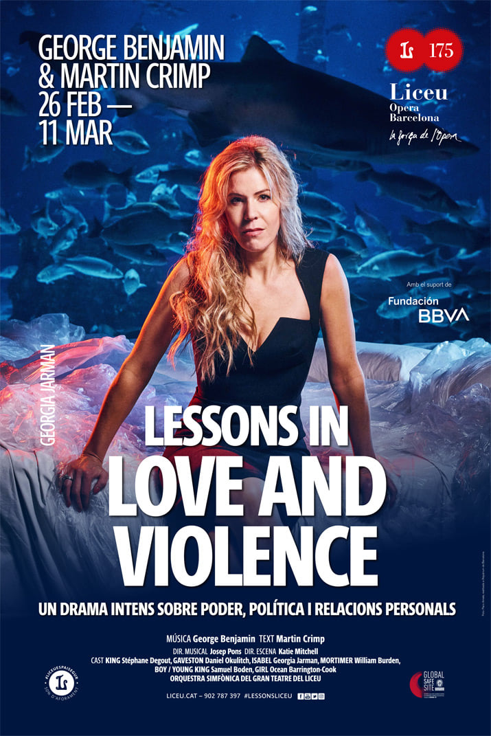 Poster 2 Lessons in Love and Violence - Alberto Amayuelas